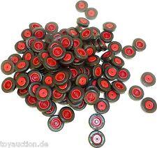 100 x Reifen avec rouge Jante Herpa Albedo 1:87 5001 å