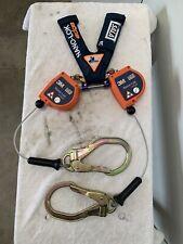 3m Dbi Sala Nano Lol Edge Srl Twin Leg Cabl With Steel Rebar Lock Hooks 3500227