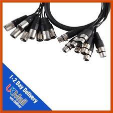 PULSE  PLS00501  8-Way XLR Plug To Socket Loom