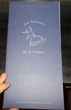 AVIATION MENU AIR FRANCE VOL LOS ANGELES PARIS VERS 2000