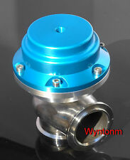 44MM External Wastegate 7 PSI Turbo Stainless Steel Dump Valve BLUE II