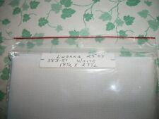 "Lugana White  25 count 18"" x 27-1/2"""