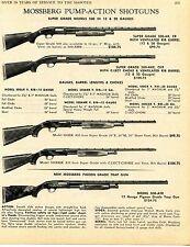 1969 Print Ad of Mossberg Model 500 500ER 500EKR & 500-ATR Pigeon Grade Shotgun