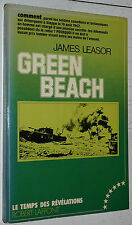 GREEN BEACH DIEPPE 19 AOUT 1942 / JAMES LEASOR / CANADA  RADAR DEBARQUEMENT
