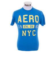 Aeropostale Men Short Sleeve AERO NYC 87 Graphic T-Shirt Style 7608 $0 Free Ship