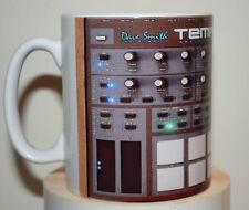 Custom Dave Smith Instruments- Tempest Analog Drum Machine novelty mug studio