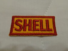VINTAGE  50s 60s  SHELL    GAS STATION  PATCH