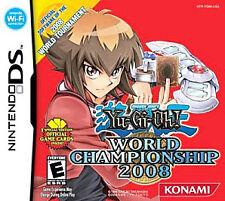 Yu-Gi-Oh World Championship 2008 (Nintendo DS, 2007) Cartridge Only