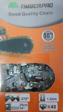 "TIMBERPRO CS-2500 10"" Top Handle Chainsaw Genuine Replacement Spare Chain CS2500"