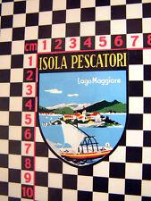 Isola Pescatori vacances AUTOCOLLANT ALFA ROMEO JUNIOR GIULIETTA SPIDER