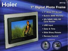"""HAIER 7"""" DIGITAL PHOTO FRAME - PF710 - NIB!"""