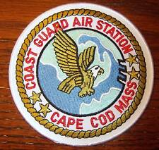 USCG AIR STATION PATCH CAPE CODE MASS 5 inches
