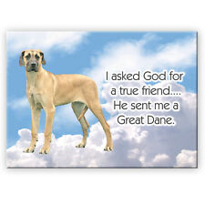 Great Dane True Friend From God Fridge Magnet No 5 Dog
