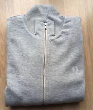 Fred Perry Men's Sweatshirt Zip-Through Grey Large