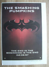 Smashing Pumpkins - The End - MUSIC advert poster - 1997 - 10 x 7 in clipping