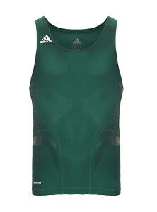 Adidas Powerweb Herren PWED Tank Techfit Shirt Top Fitness Training grün P56932
