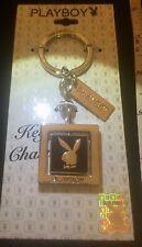 $39.00 NOS HQ Licensed Playboy Bunny SPINNER key ring charm USA -RIP HUGH HEFNER