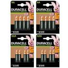 Duracell Rechargeable Batteries AA AAA Ultra Plus NiMH Duralock Pre Stay Charge