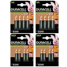 More details for duracell rechargeable batteries aa aaa ultra plus nimh duralock pre stay charge