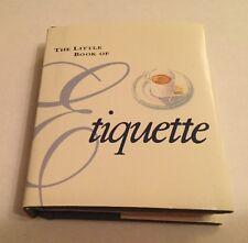 The Little Book Of Etiquette Mini Hard Back Pocket Size Book