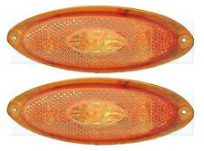 2 x JOKON AMBER LED SIDE MARKER LAMPS LIGHTS ELDDIS AUTOQUEST ASPIRE MOTORHOME