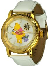Disney Watches Winnie the Pooh PU Der Bear Automatic for Adult Unisex