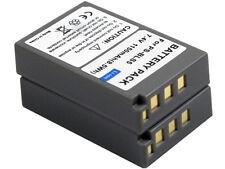 2x BLS-1 BLS-5 BLS-50 Battery for Olympus E-PL5 E-PL6 E-PL7 E-PM2 Stylus 1 1S