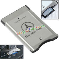 PCMCIA to SD Adapter for Mercedes-Benz Audio System Support SDHC 32GB - L60