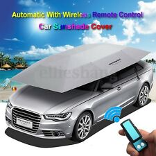 Portable Automatic Car Roof Cover Umbrella Remote Control Sunshade UV Protection