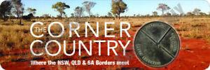 The Corner Country Outback No. 2  QLD/SA/NSW Bumper Sticker