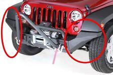 Embout de Pare choc avant Hight clearance (2) Jeep Wrangler JK 2007 &