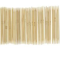 """1X(11 Sets 4.9"""" Bamboo Knitted Gloves Knitting Needles 2,0 - 5,0 mm US 0-8 Q9G2)"""