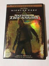 National Treasure (DVD, 2005, Full Frame) Walt Disney