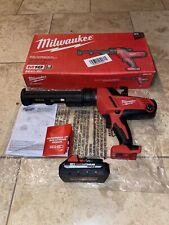 Ready To GO!!! Milwaukee 2641-20 M18 10oz. Caulk and Adhesive Gun W/ M18 Cp3.0