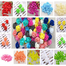 SMALL 3CM FOAM ROSES-15 Colourfast Artificial Wedding Flowers Bouquet Decoration
