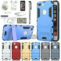 Case Cover Car Charger Earphones Accessory Bundle For iPhone X 5 6 7 8 S Plus