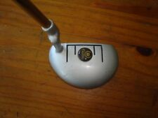 """.444 Bullet Cadillac Milled Face Mallet Golf Putter RH 35"""" """"VERY GOOD"""""""
