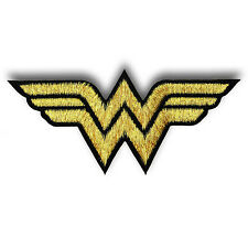 Wonder Woman Superhero Logo Embroidered Iron on Movie Cartoon Applique Comics 4#