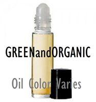 10ml Uncut PERFUME OIL Concentrated Body Fragrance/Attar/Etr/Burn 1/3 oz Roll On
