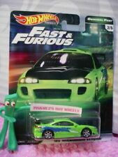 Véhicules miniatures verts Fast & Furious