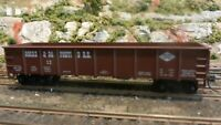 Roundhouse MDC HO John Allen Tribute G&D 40' Steel Gondola, Upgraded, Exc.