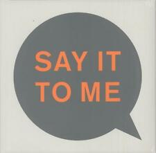 """Pet Shop Boys """"Say It To Me"""" 4 Track """"Mixes 12"""" Single (New & Sealed)"""