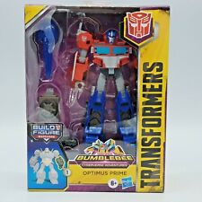 Transformers Cyberverse Adventures Deluxe Optimus Prime Action Figure Brand New