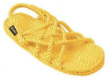 Gurkees Rope Sandals - Neptune Yellow Womens 6 Gurkee