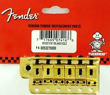 Fender Vintage tremolo bridge ponte stratocaster GOLD 56mm NEW 0052375000