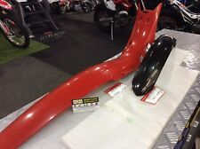 Montesa 4rt Black Front Mudguard & Red Rear Mudguard