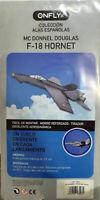 Mc Donnel Douglas F-18 Hornet facil de montar con tirador excelente aerodinamica