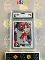 2014 Topps Bryce Harper #100 - 10 GEM MINT GMA Graded Baseball Card