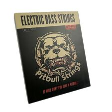 Bajo eléctrico premium 6 Cuerdas - 30-125 Pitbull Cuerdas serie GEB6-SL Gold