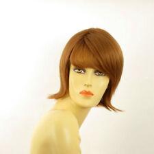 Parrucca donna corta biondo rame : VALERIA 27